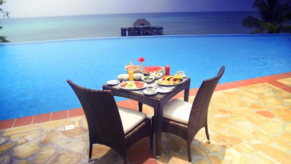 Restaurants and bar sea cliff resort spa zanzibar - Home salon zanzibar ...